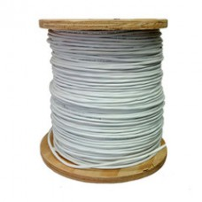 Plenum Security Cable, White, 22/8 (22 AWG 8 Conductor), Stranded, CMP, Spool, 1000 foot