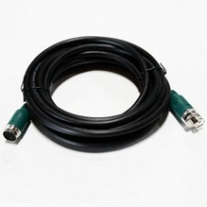 EZ Pull VGA + Audio Runner Cable, Green Booted Female, Max Resolution 1600x900 (UXGA), 15 foot