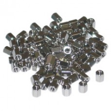 Hex Nut, # 4 - 40, 100 Pieces, 5.0mm