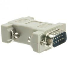 DB9 Male / HD15 (VGA) Female, VGA Adapter, Molded