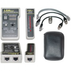 Lan Tester Network Cable tester, Pin Configuration/Wire Map Results