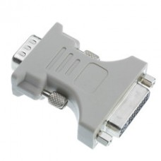 DVI-A to VGA Analog Video Adapter, DVI-A Female to HD15 Male