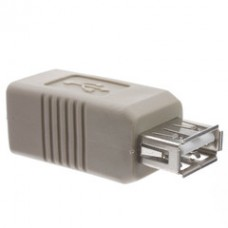 USB A to B Adapter, Type A Female to Type B Female
