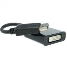 DisplayPort Male to DVI F Adapter 6 inch cable
