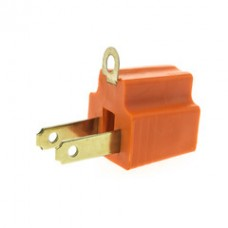 3 Prong to 2 Prong Grounding Converter for AC Outlet