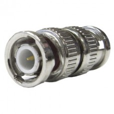 BNC Barrel Connector (Coupler), BNC Male to BNC Male, 50 Ohm