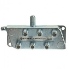 F-pin Coaxial Splitter, 6 Way