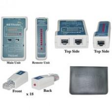 NETfinder Pro 3 test Sequences, Tone Generator, Portfinder, 18 remotes cable organizer