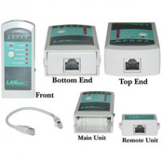LanTester Cable Tester Pro, Detect Wiring Faults and Wiring Mistakes, Includes AAA Battery