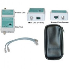 SOHOtest-E Network/Phone/TV Cable Tester, Tests Cat5e, Cat6, Cat6a, Coaxial and Telephone runs for Continuity and Wiring Map