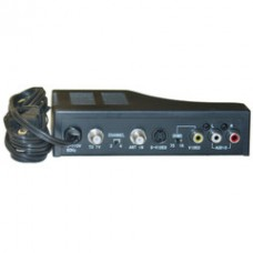 RF Modulator with S-Video, Composite Audio/Video RCA / S-Video to F-pin Coaxial, Channel 3/4 Selector