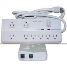 Surge Protector, 8 Outlet, Professional with Fax Modem Protection, Max 2160 Joules, Power Cord 6 foot