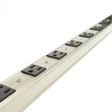 12 Outlet Vertical Rackmount Power Distribution Unit (PDU), Power Strip, 15A with 6ft Power Cord