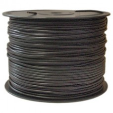 Shielded Bulk Microphone Cable, 22/2 (22 AWG 2 Conductor), Spool, 1000 foot
