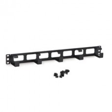 Rackmount 5X D Ring Cable Manager, 1U