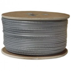Bulk Phone Cord, Silver Satin, 26/4 (26 AWG 4 Conductor), Spool, 1000 foot