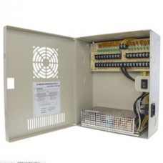 18 Port Power Distribution Box, 12 Volts DC / 20 Amps