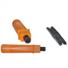 Punch Down Tool with Impact Adjustment, includes 110/88 Blade