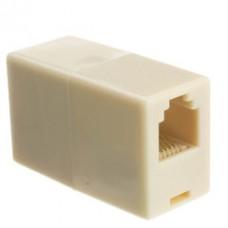 Inline Telephone Coupler (Voice), RJ12, 6P/6C